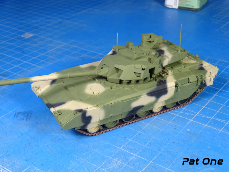 "T-14 ""Armata"" 1/72 ( Zvezda 5056 ) *** Terminé en pg 2 Dsc00813"