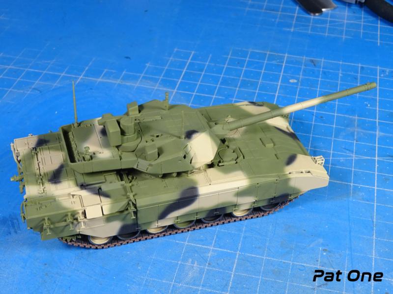 "T-14 ""Armata"" 1/72 ( Zvezda 5056 ) *** Terminé en pg 2 Dsc00815"