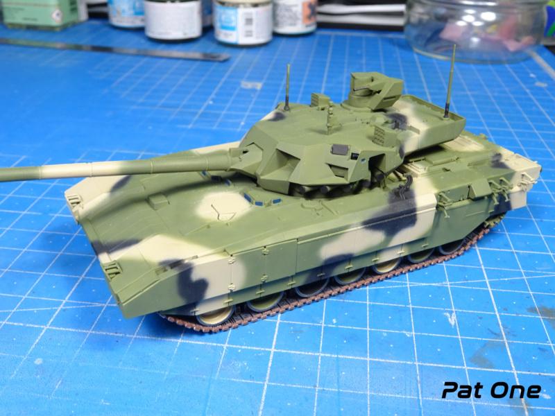 "T-14 ""Armata"" 1/72 ( Zvezda 5056 ) *** Terminé en pg 2 - Page 2 Dsc00825"
