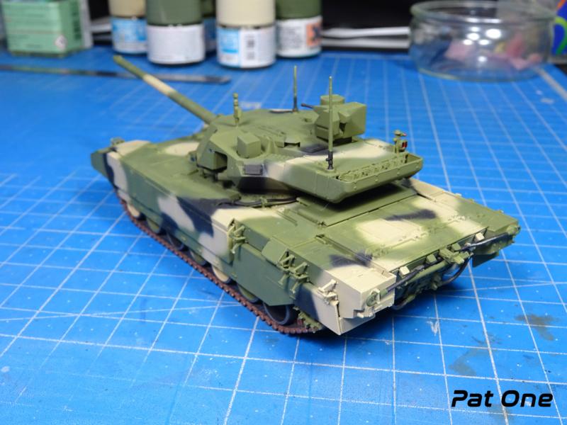 "T-14 ""Armata"" 1/72 ( Zvezda 5056 ) *** Terminé en pg 2 - Page 2 Dsc00826"