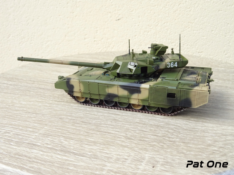 "T-14 ""Armata"" 1/72 ( Zvezda 5056 ) *** Terminé en pg 2 - Page 2 Dsc00910"