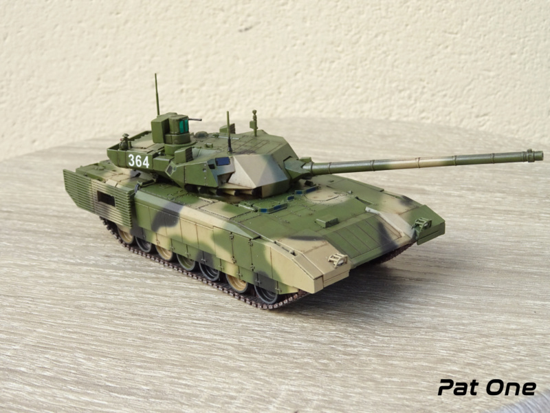 "T-14 ""Armata"" 1/72 ( Zvezda 5056 ) *** Terminé en pg 2 - Page 2 Dsc00914"