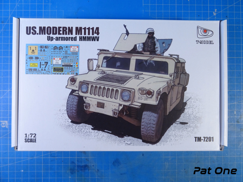 Us.modern M1114 Up-armored HMMWV 1/72 ( T-model TM-7201 )*** Terminé en pg 2 Dsc01015