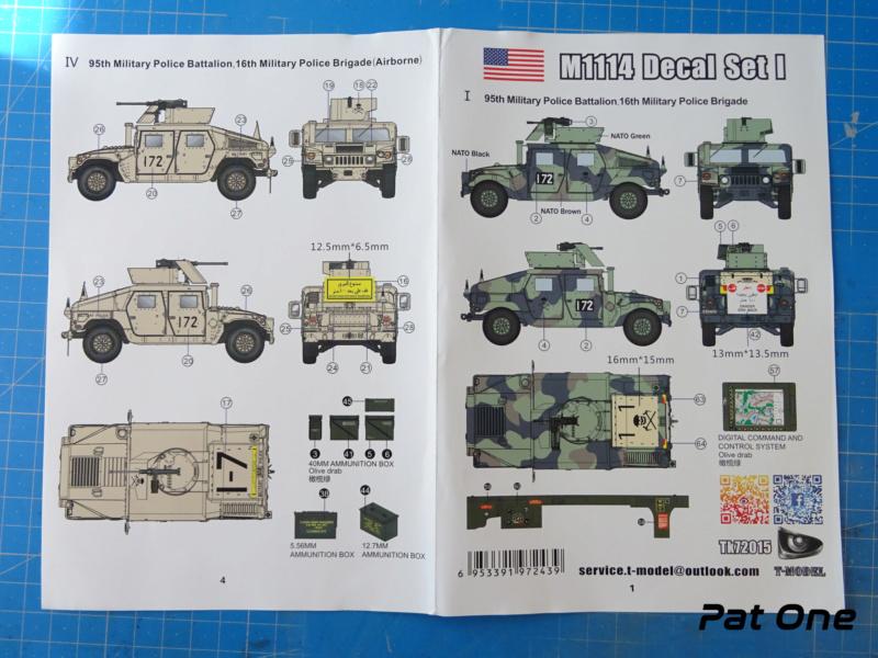 Us.modern M1114 Up-armored HMMWV 1/72 ( T-model TM-7201 )*** Terminé en pg 2 Dsc01021