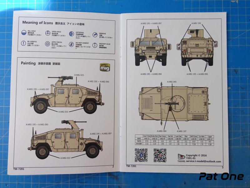 Us.modern M1114 Up-armored HMMWV 1/72 ( T-model TM-7201 )*** Terminé en pg 2 Dsc01029