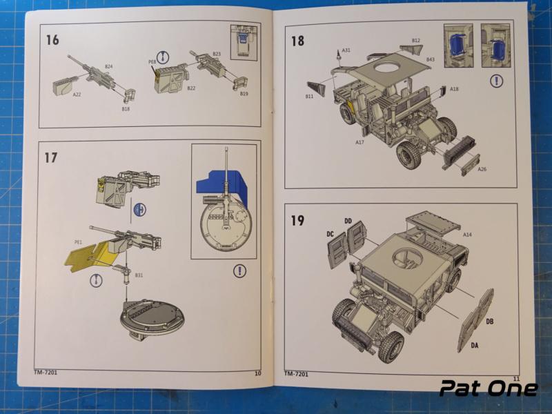 Us.modern M1114 Up-armored HMMWV 1/72 ( T-model TM-7201 )*** Terminé en pg 2 Dsc01034