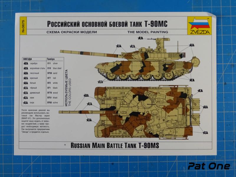 T90MS Char de combat russe 1/72 ( Zvezda 5065 ) Dsc01734
