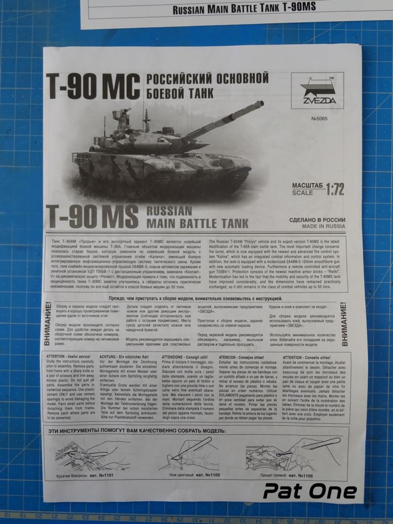 T90MS Char de combat russe 1/72 ( Zvezda 5065 ) Dsc01736