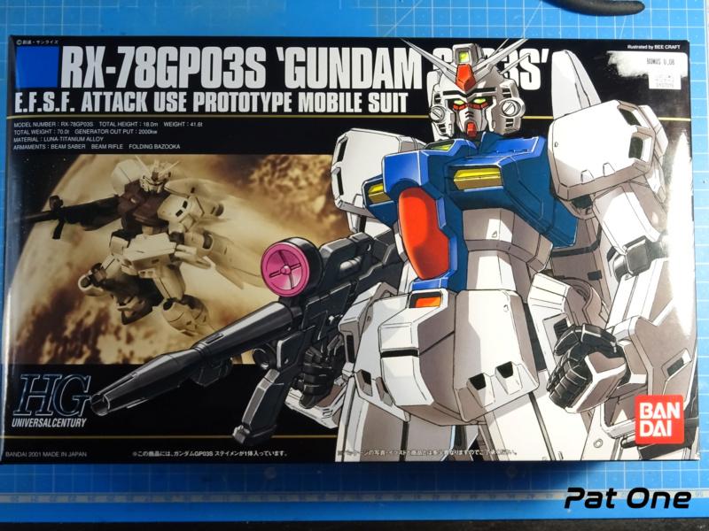 """""""Gundam GPO3S"""" 1/144 ( Bandai réf:0107016) *** Terminé en pg 1 Dsc01822"""