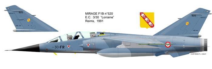 "Mirage F.1B EC 03/30 ""Lorraine"" 1/72 (Special Hobby 72291) F1b_5210"