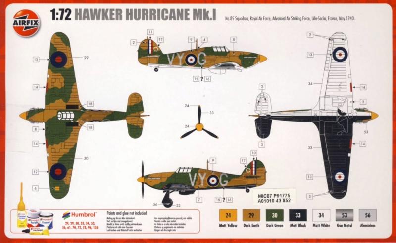 Hawker Hurricane Mk.1 (Airfix 1/72) Hawker10