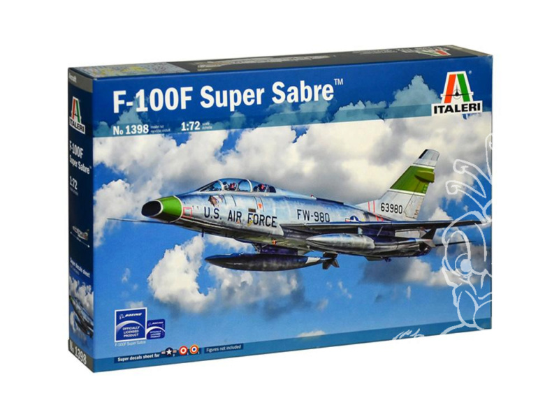 F-100F Super Sabre 1/72 (Italeri 1398) Italer10