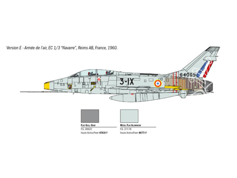 F-100F Super Sabre 1/72 (Italeri 1398) Italer12