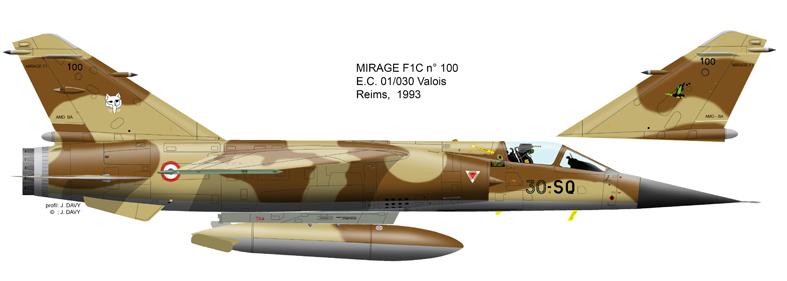 "Mirage F.1C EC 01/30 ""Valois"" 1/72 (Special Hobby 72388) Mf1c_110"