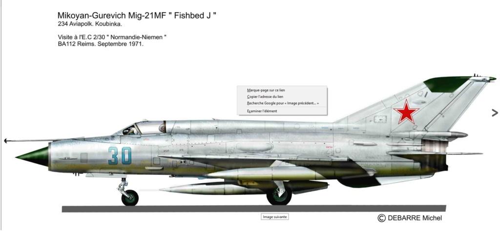 MIG 21 MF Reims 1971 ( Eduard 1/72 )  Mig-2110