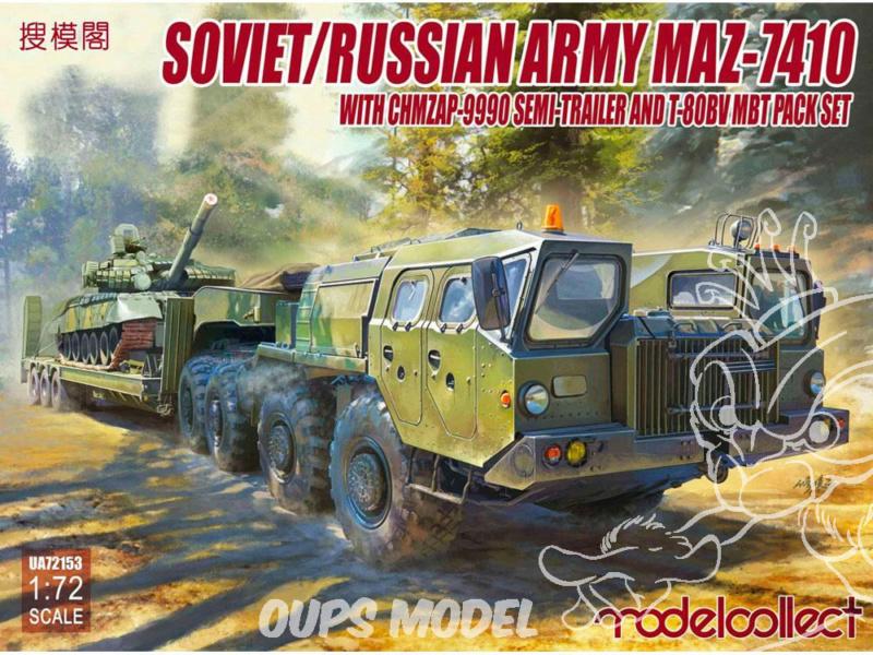 M1070 & M1000 w/D9R 1/72 ( Takom 5002 )*** Terminé en pg 7 - Page 2 Modelc10