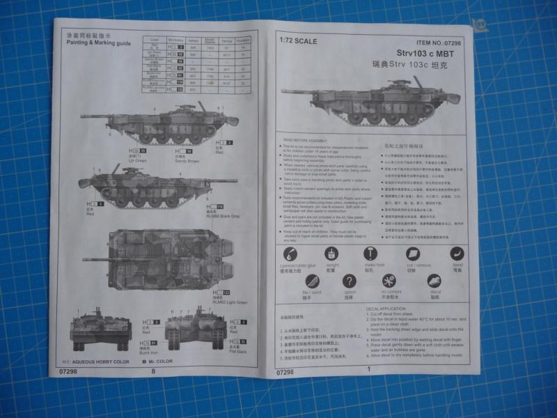 Strv 103C MBT 1/72 ( Trumpeter 07298 ) *** Terminé en pg 4 - Page 2 P1250810