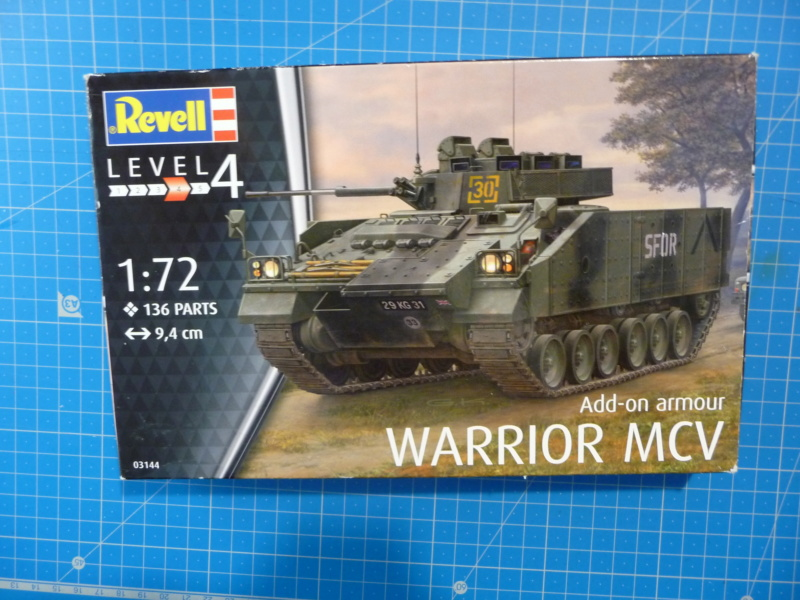 Warrior MCV with add-on armour 1/72 ( Revell 03144 ) *** Terminé en pg 2 P1260215