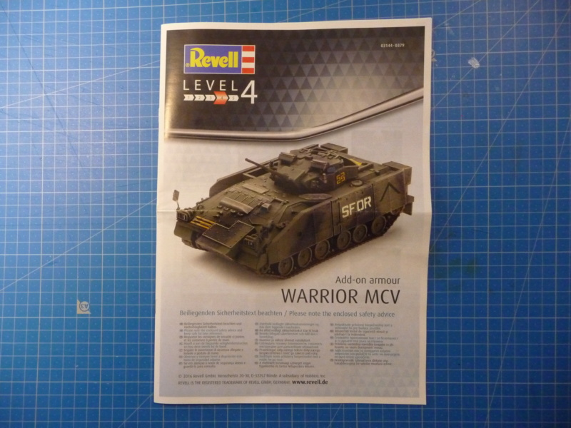 Warrior MCV with add-on armour 1/72 ( Revell 03144 ) *** Terminé en pg 2 P1260220