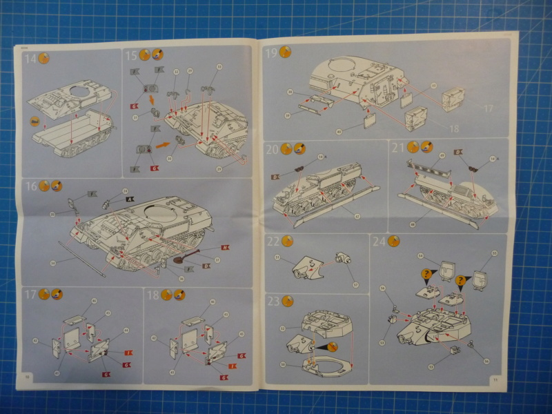 Warrior MCV with add-on armour 1/72 ( Revell 03144 ) *** Terminé en pg 2 P1260224