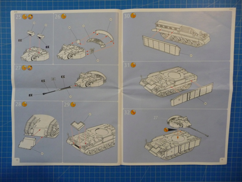 Warrior MCV with add-on armour 1/72 ( Revell 03144 ) *** Terminé en pg 2 P1260225