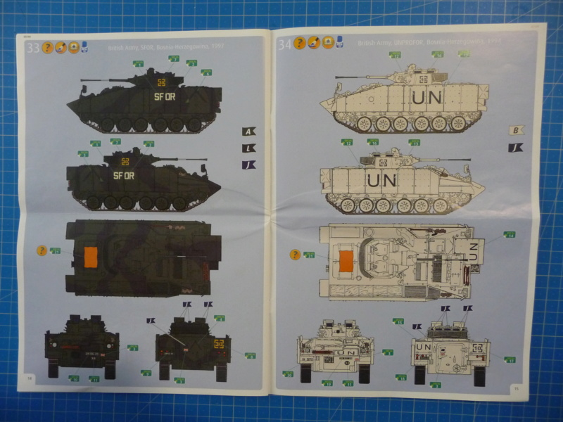 Warrior MCV with add-on armour 1/72 ( Revell 03144 ) *** Terminé en pg 2 P1260226