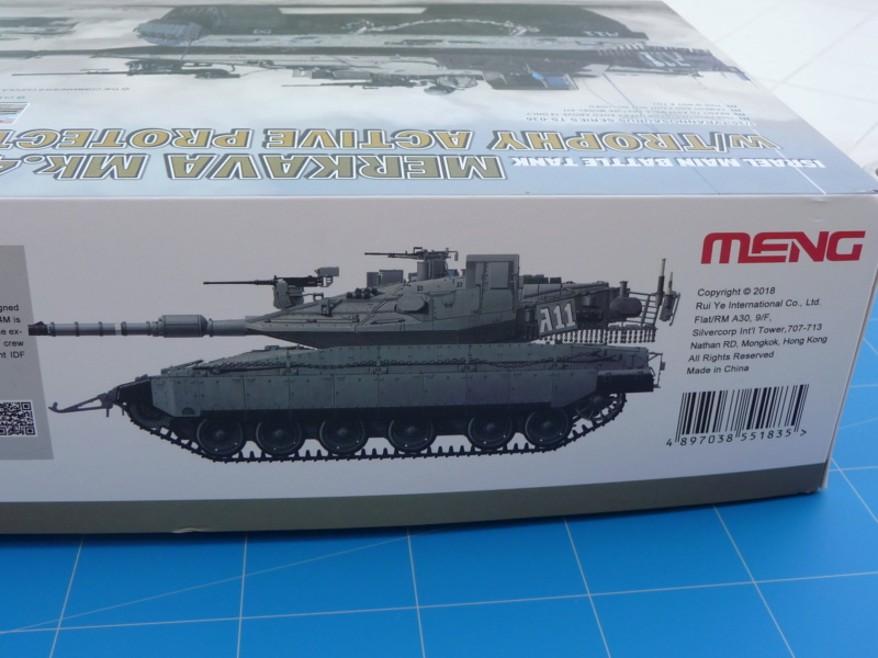 Merkava Mk.4M w/Trophy Active Protection System 1/35 ( Meng TS-036 ) P1260412
