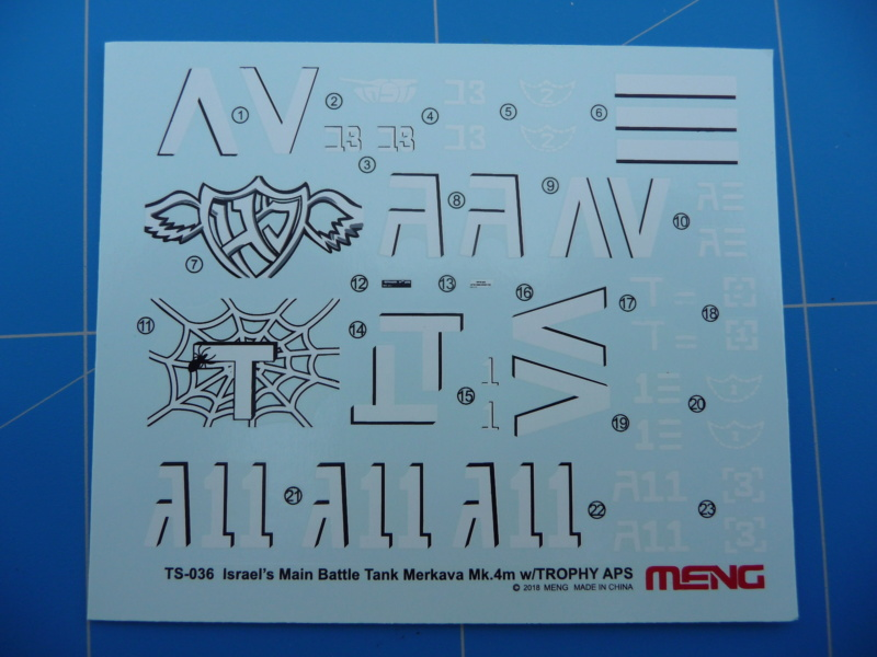 Merkava Mk.4M w/Trophy Active Protection System 1/35 ( Meng TS-036 ) P1260522
