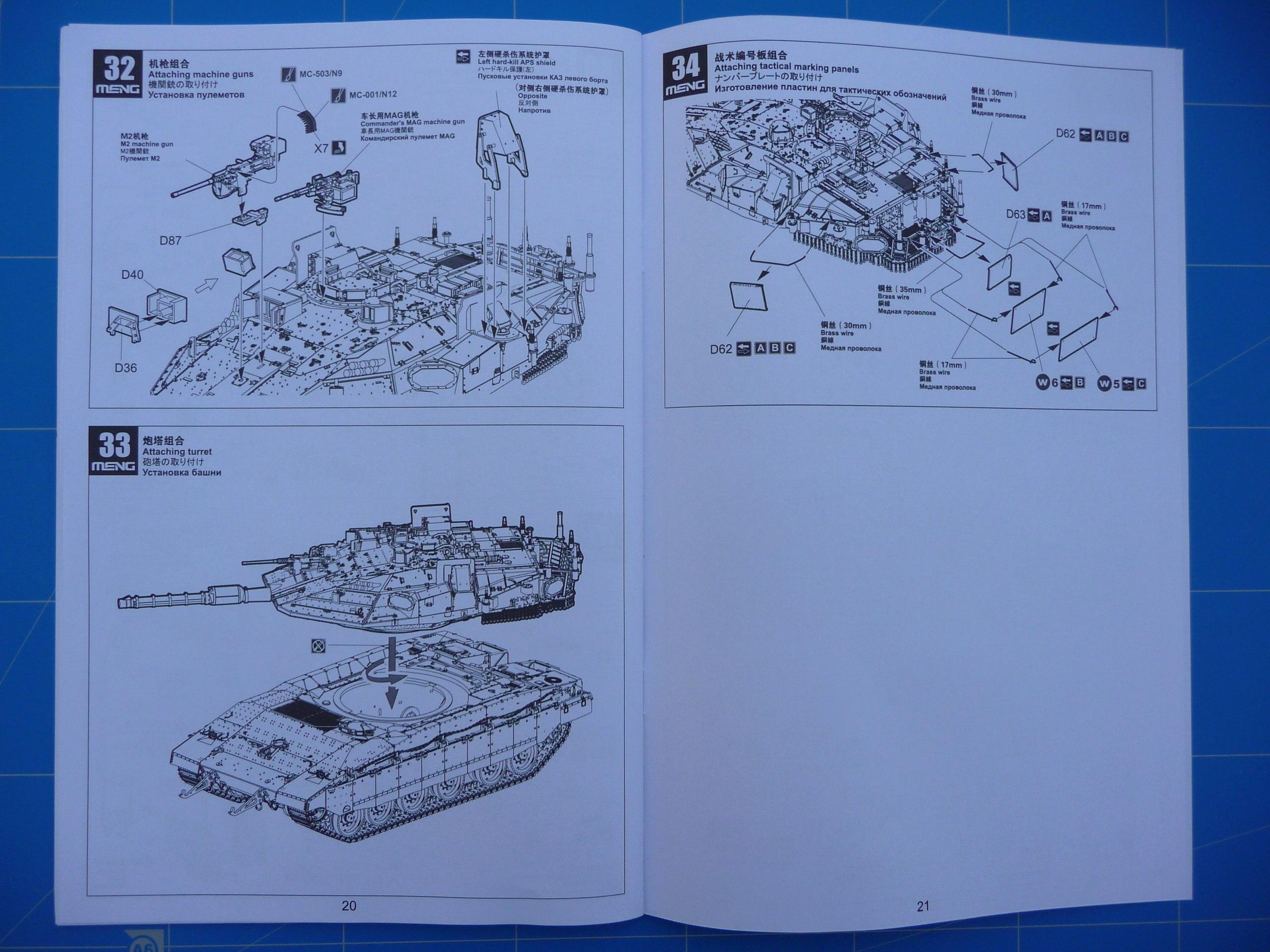 Merkava Mk.4M w/Trophy Active Protection System 1/35 ( Meng TS-036 ) P1260547