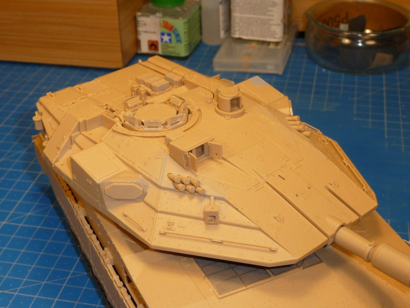 Merkava Mk.4M w/Trophy Active Protection System 1/35 ( Meng TS-036 ) - Page 2 P1260745