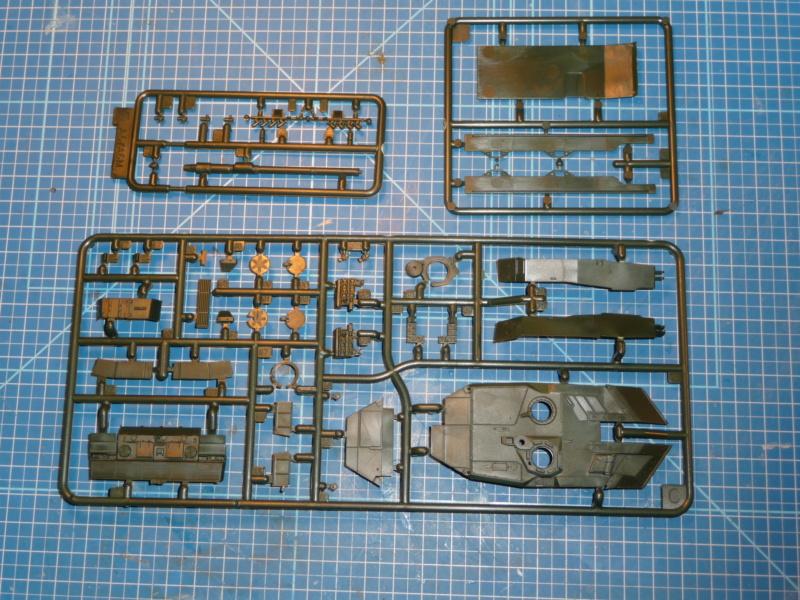 Leopard 2A6/A6M 1/72 ( Revell 03180 ) *** Terminé en pg 2 P1260835