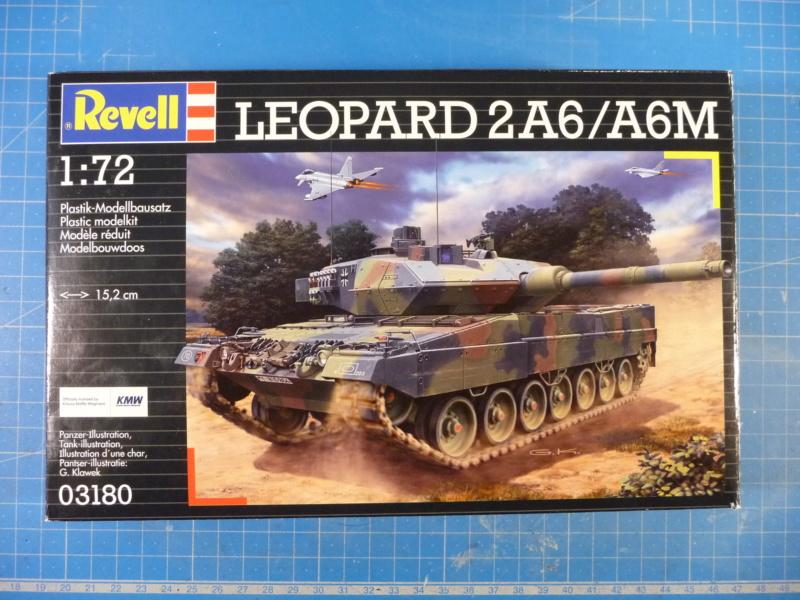 Leopard 2A6/A6M 1/72 ( Revell 03180 ) *** Terminé en pg 2 P1260915