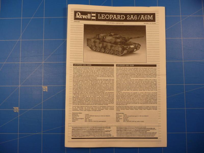 Leopard 2A6/A6M 1/72 ( Revell 03180 ) *** Terminé en pg 2 P1260916