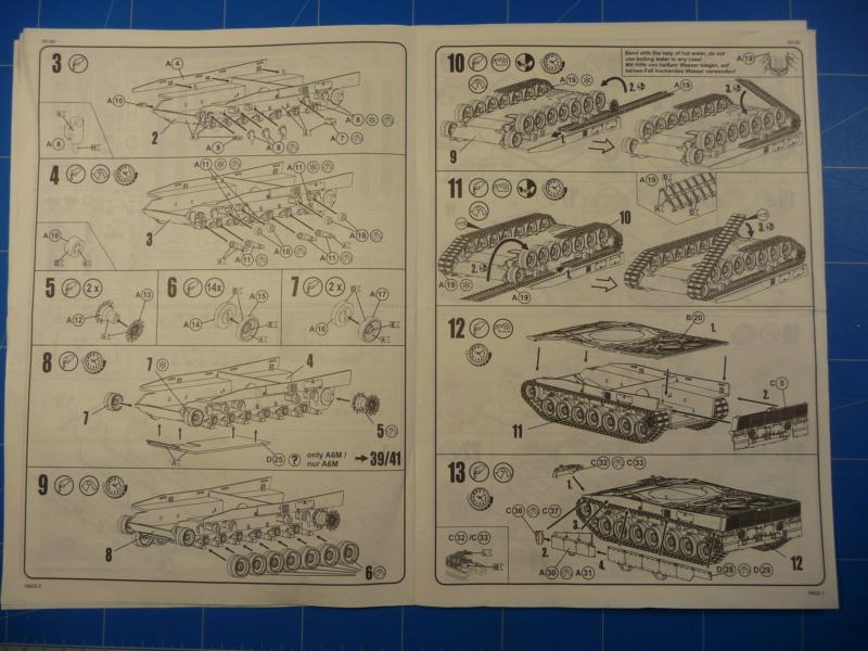 Leopard 2A6/A6M 1/72 ( Revell 03180 ) *** Terminé en pg 2 P1260918