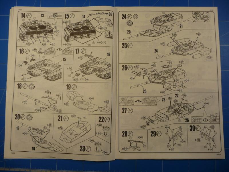 Leopard 2A6/A6M 1/72 ( Revell 03180 ) *** Terminé en pg 2 P1260919