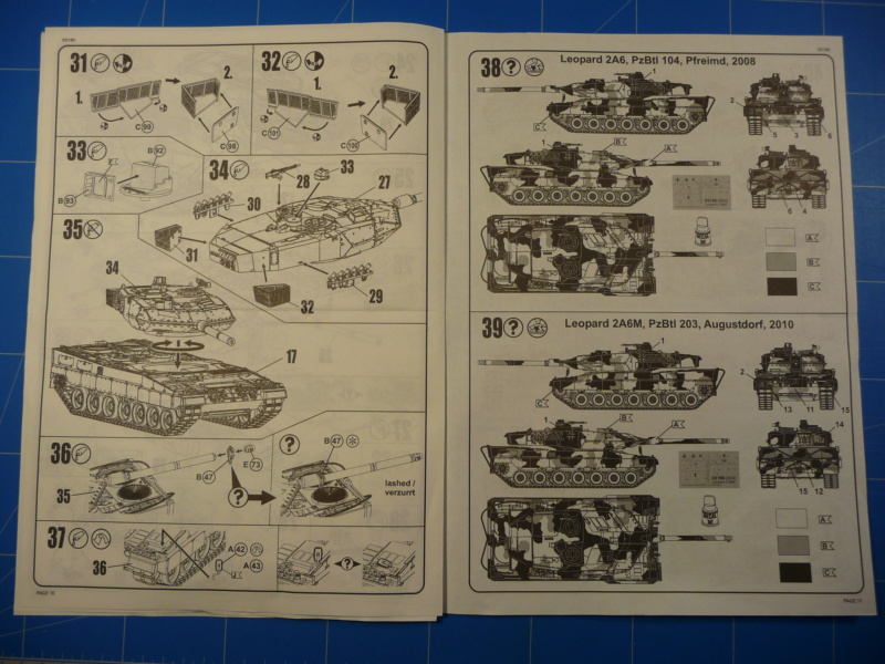 Leopard 2A6/A6M 1/72 ( Revell 03180 ) *** Terminé en pg 2 P1260920