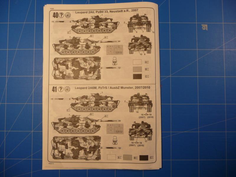 Leopard 2A6/A6M 1/72 ( Revell 03180 ) *** Terminé en pg 2 P1260921