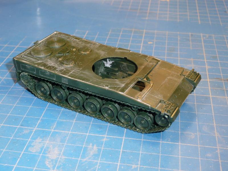 Leopard 2A6/A6M 1/72 ( Revell 03180 ) *** Terminé en pg 2 P1260923