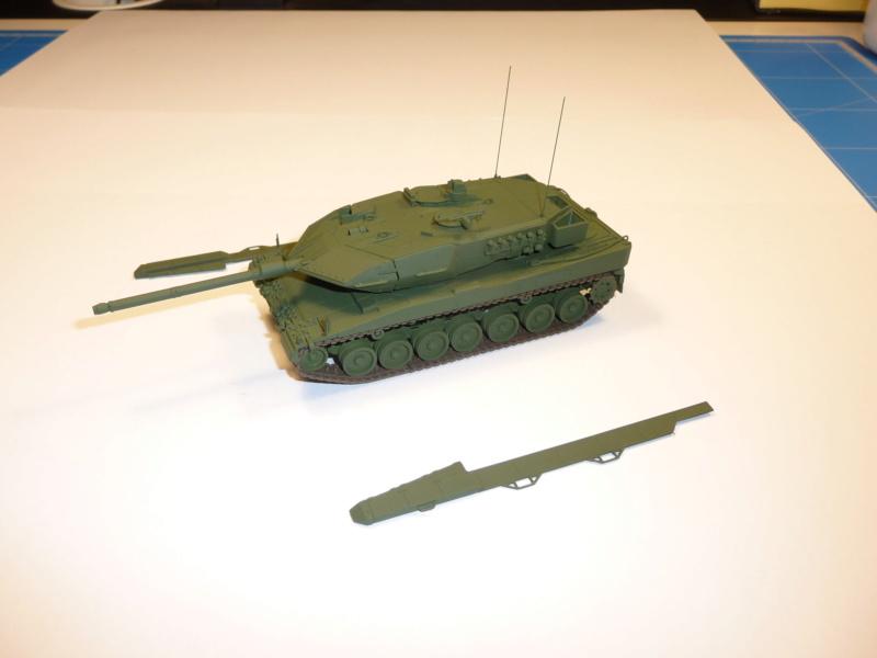 Leopard 2A6/A6M 1/72 ( Revell 03180 ) *** Terminé en pg 2 P1260927