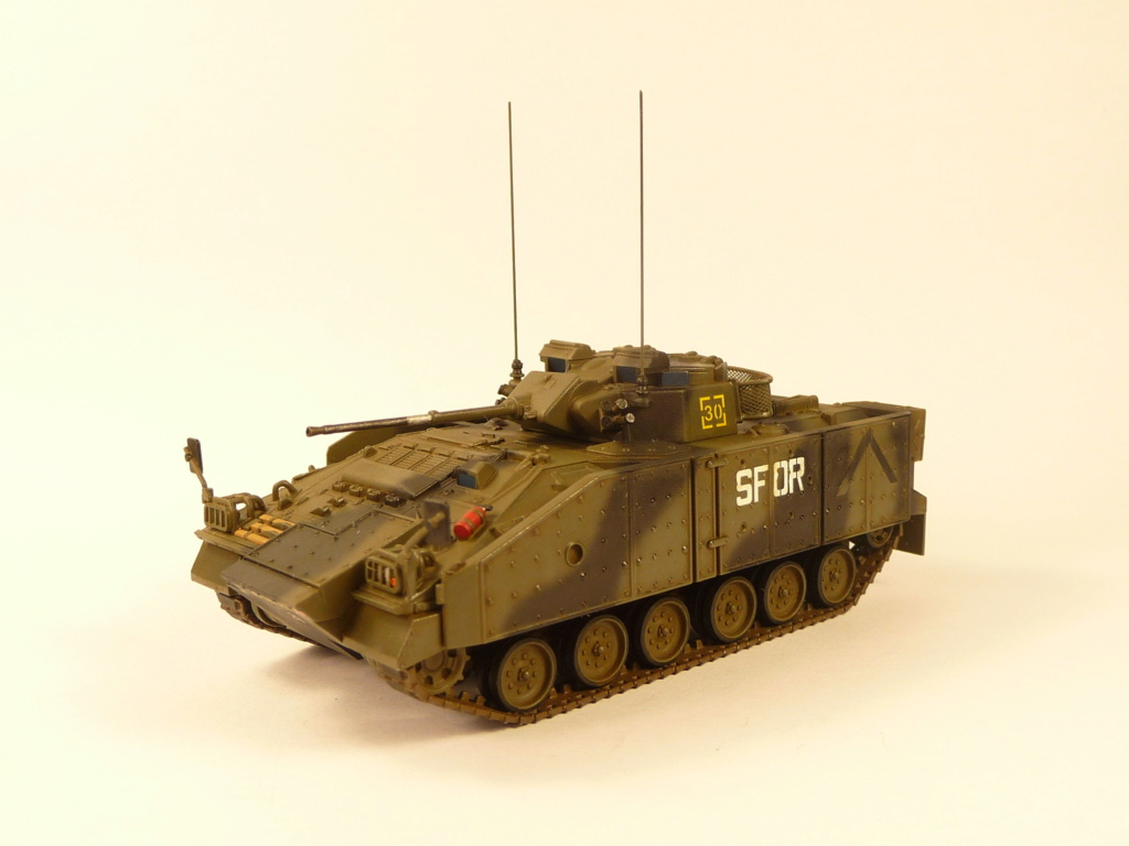 Warrior MCV with add-on armour 1/72 ( Revell 03144 ) *** Terminé en pg 2 - Page 2 P1270347