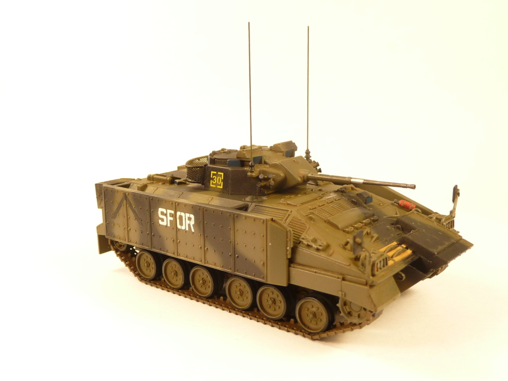 Warrior MCV with add-on armour 1/72 ( Revell 03144 ) *** Terminé en pg 2 - Page 2 P1270348