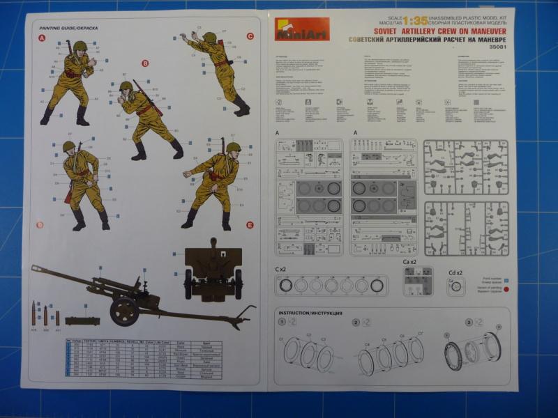 Zis-3 et son équipage  (MiniArt 1/35)  P1270625