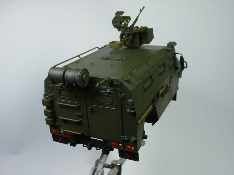 """Tiger-M Russian Armored vehicule with """"Arbalet"""" 1/35 ( Zvezda 3683 ) *** Terminé en pg 3 - Page 2 P1290821"""