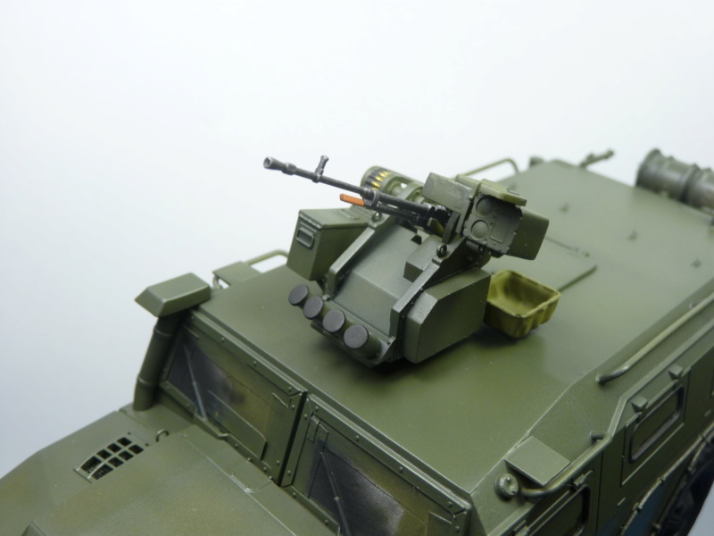 """Tiger-M Russian Armored vehicule with """"Arbalet"""" 1/35 ( Zvezda 3683 ) *** Terminé en pg 3 - Page 2 P1290823"""