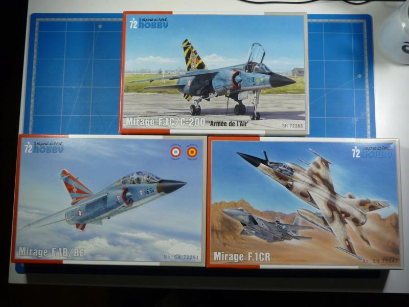 """Mirage F.1CR  ER 02/33 """"Savoie"""" 1/72 (Special Hobby 72347) P1300234"""