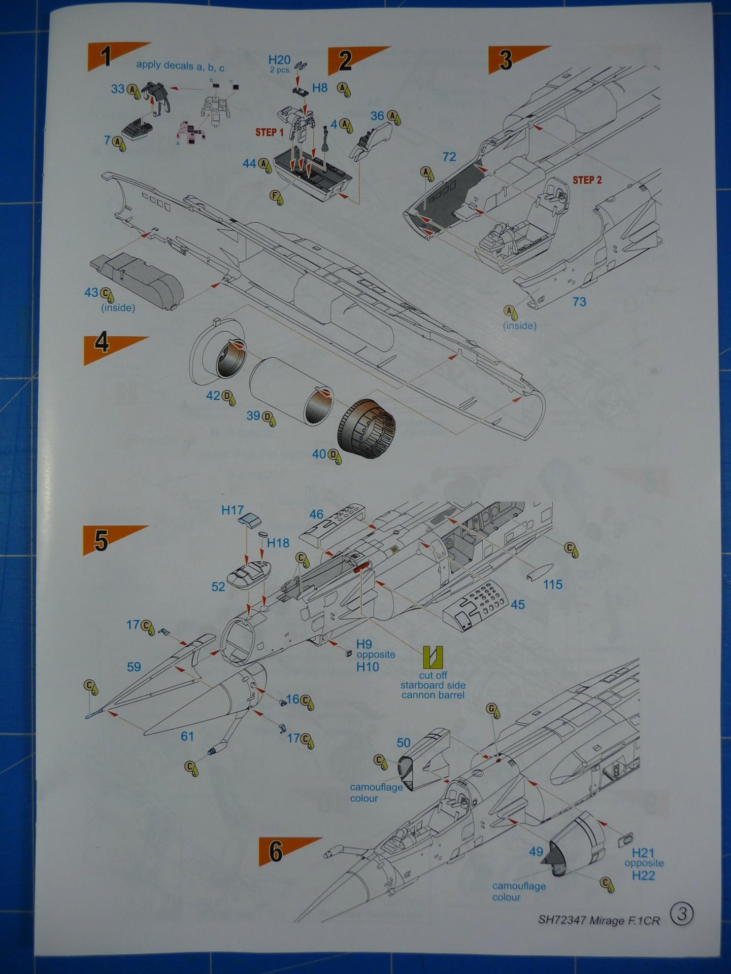 """Mirage F.1CR  ER 02/33 """"Savoie"""" 1/72 (Special Hobby 72347) P1300331"""