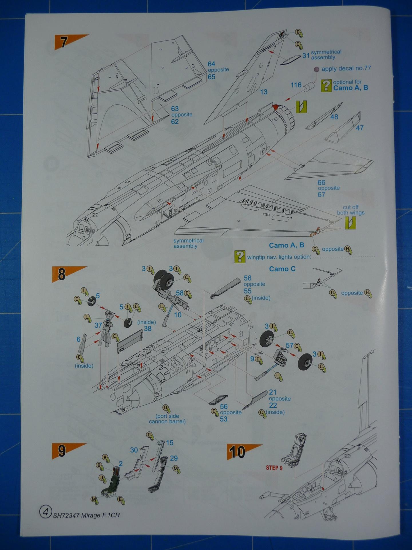 """Mirage F.1CR  ER 02/33 """"Savoie"""" 1/72 (Special Hobby 72347) P1300334"""