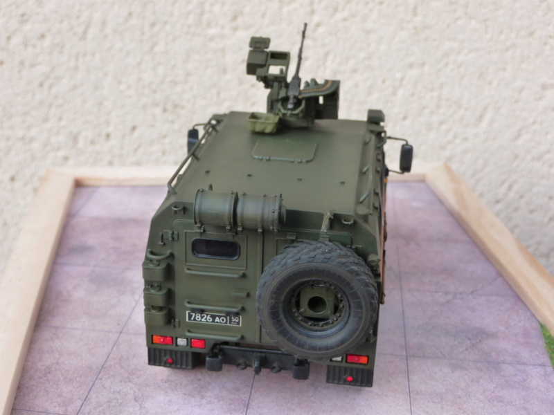 """Tiger-M Russian Armored vehicule with """"Arbalet"""" 1/35 ( Zvezda 3683 ) *** Terminé en pg 3 - Page 3 P1300341"""
