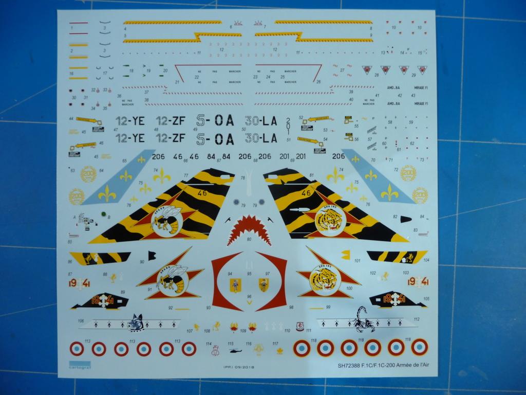 "Mirage F.1C EC 01/30 ""Valois"" 1/72 (Special Hobby 72388) P1300415"