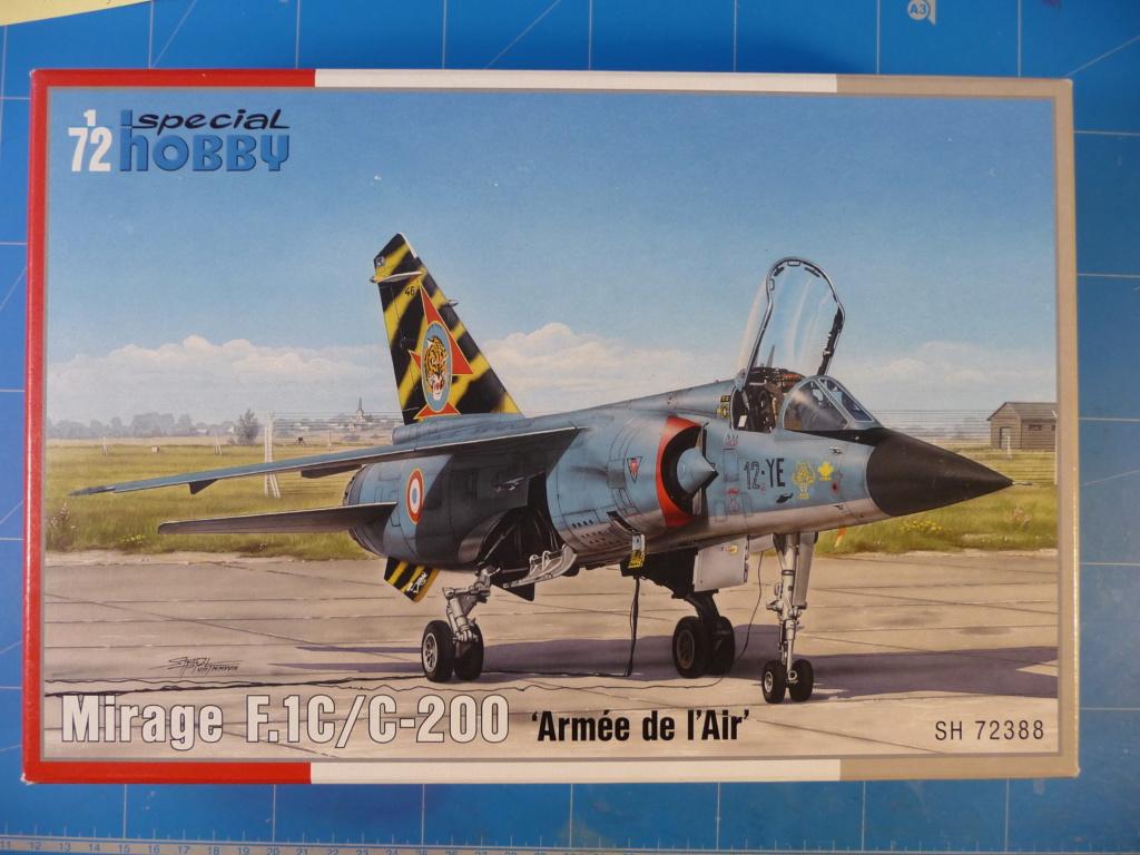 "Mirage F.1C EC 01/30 ""Valois"" 1/72 (Special Hobby 72388) P1300416"